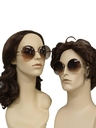 Unisex Accessories - Oversized Club 51 or Elton John Style Unisex Oversized  Sunglasses
