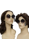 Unisex Accessories - Totally 80s Club 51 or Elton John Style Unisex Round Glasses
