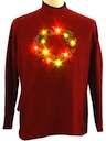 Womens Ugly Lightup Christmas Sweater