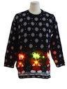 Unisex Bear-riffic Lightup Ugly Christmas Sweater
