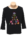 Womens Ugly Christmas Sweater Shirt
