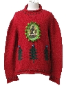 Womens Ugly Krampus Christmas Sweater