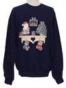 Unisex Country Kitsch Ugly Christmas Sweatshirt