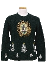 Womens or Girls Ugly Christmas Krampus Sweater