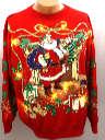 Unisex Light up Ugly Christmas Sweatshirt
