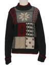 Womens Mod Ski Sweater