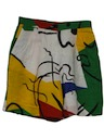 Womens Totally 80s Style Shorts