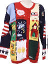 Womens Cheesy Ugly Kitschy Sweater