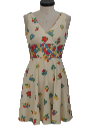 Womens/Girls Knit Sun Dress