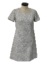 Womens Knit Cocktail Dress