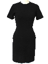 Womens Little Black Day Dress