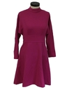 Womens Mod Designer Knit Dress