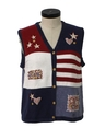 Womens Cheesy Ugly Sweater Vest