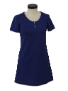 Womens Knit Mini Dress