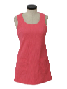 Womens A-Line Knit Dress