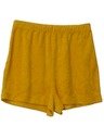 Womens Totally 80s Terry Cloth Shorts