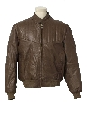 Mens Cafe Racer Totally 80s Leather Jacket