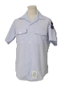 Mens Military Style Work Shirt