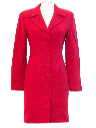 Womens Totally 80s Wool Dress