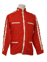 Mens Windbreaker Racing Style Jacket