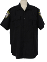 Mens Police Work Shirt