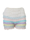Womens Lingerie - Ruffled Square Dancing Bloomers Panties