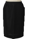 Womens Fab Fifties Straight Skirt