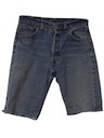 Mens Levis 501 Cut Off Jeans Shorts