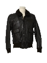 Mens G-1 Naval Leather Flight Bomber Jacket