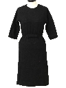 Womens Fab Fifties Little Black Semi Formal Cocktail Dress