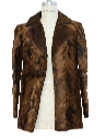 Womens Faux Fur Blazer Jacket