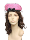 Womens Accessories - Veiled Hat