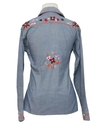 Womens/Girls Chambray Hippie Shirt