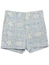 Mens Totally 80s Hawaiian Saturday Shorts