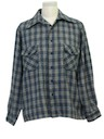Mens Wool Plaid Shirt