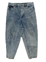 Womens Totally 80s Designer Stone Washed Jeans
