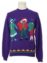 Unisex Vintage Totally 80s Ugly Christmas Sweater