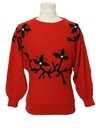 Womens Totally 80s Vintage Ugly Christmas Sweater