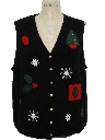 Womens Christmas Sweater Vest