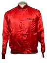 Unisex Satin Baseball Jacket