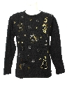 Unisex Heavily Beaded and Sequined Ugly Christmas Sweater