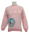 Womens or Girls Hand Embellished Ugly Christmas Sweater