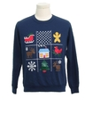 Womens Ugly Christmas Vintage Sweatshirt
