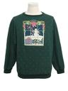 Unisex Cat-Tastic Ugly Christmas Vintage Sweatshirt