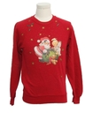 Womens or Girls Ugly Christmas Vintage Sweatshirt