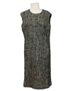 Womens Wool Mod A-line Dress