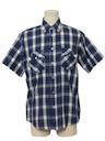 Mens Print Western Shirt