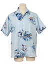 Mens Hawaiian Inspired Print Disco Shirt