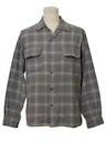 Mens Big E LEVIS Wool Board Shirt