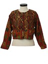 Womens Guatemalan Hippie Style Jacket